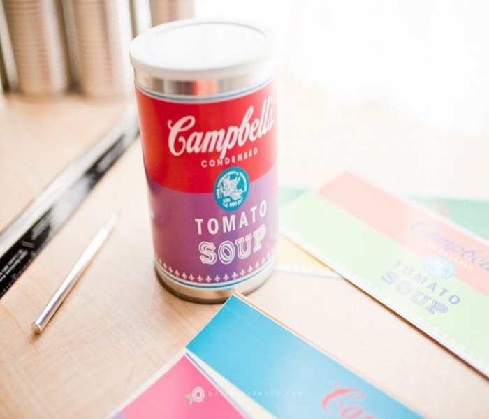 DIY Free Printable Soup Cans Toys
