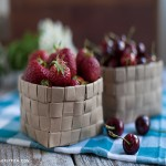 Creative Grocery Bag Fruit Basket