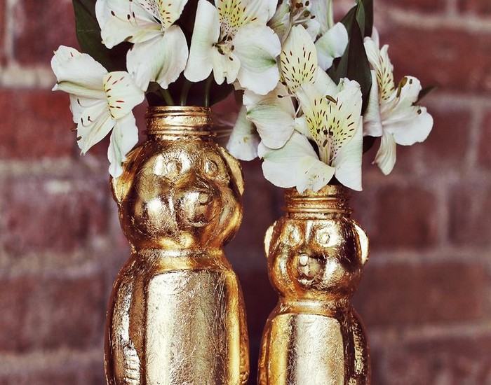 Golden Honey Bear DIY