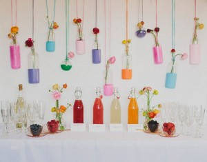 Colorful Creativity for Your Mimosa Bar