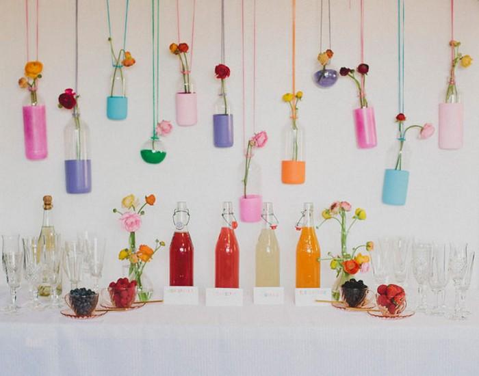 Home Decor Idea Colourful Mimosa