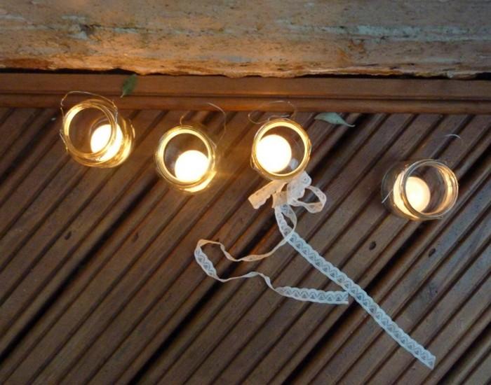 Jam Jars Lamp