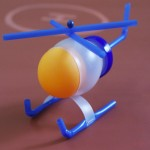 Recycled Bottles Toy Helicopter