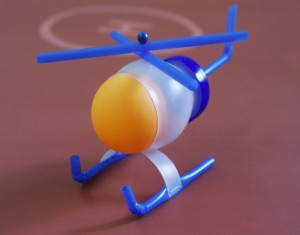 Convert Recycled Plastic Bottles into a Toy Helicopter
