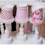 Recycled Crafts Decorating Lamp