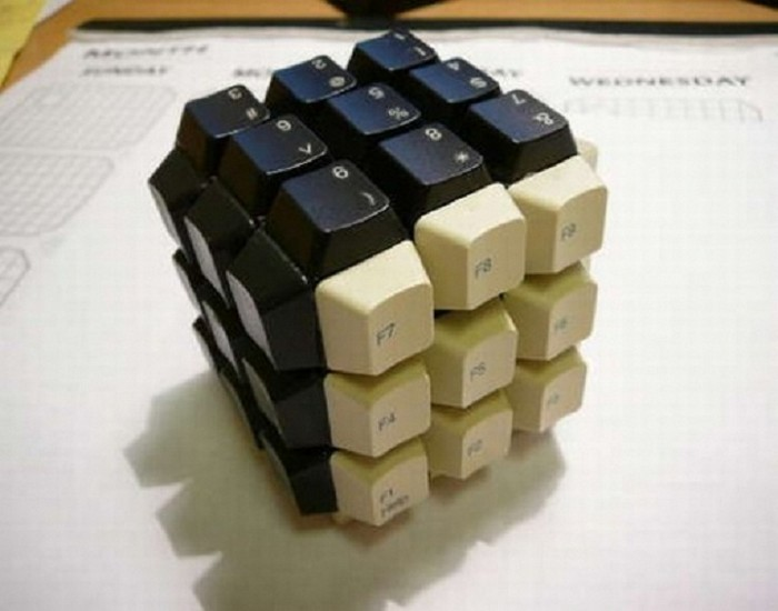 Recycled Keyboard Designs