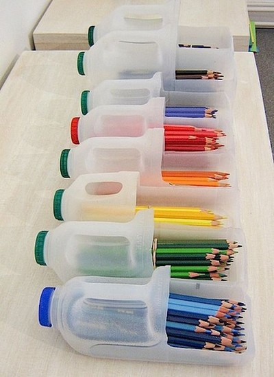 Recycled Pencil Holder Craft
