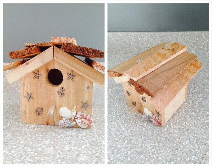 Bird House Made from Wood