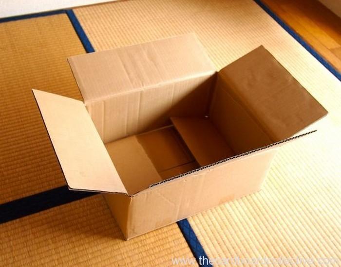 Cardboard and Cap Peg Rack Ideas