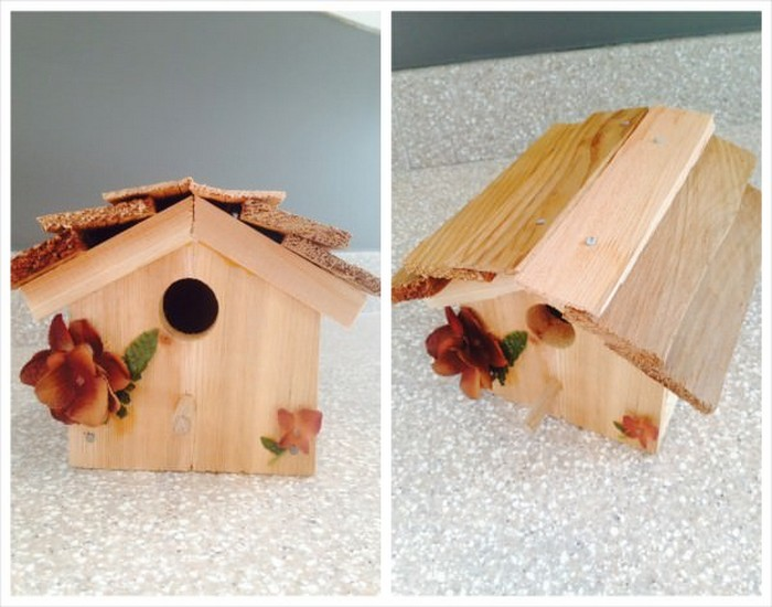 DIY Bird House Made from Wood Designs