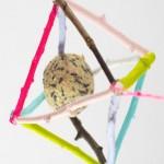 DIY Birds Rustic Feeders Ideas