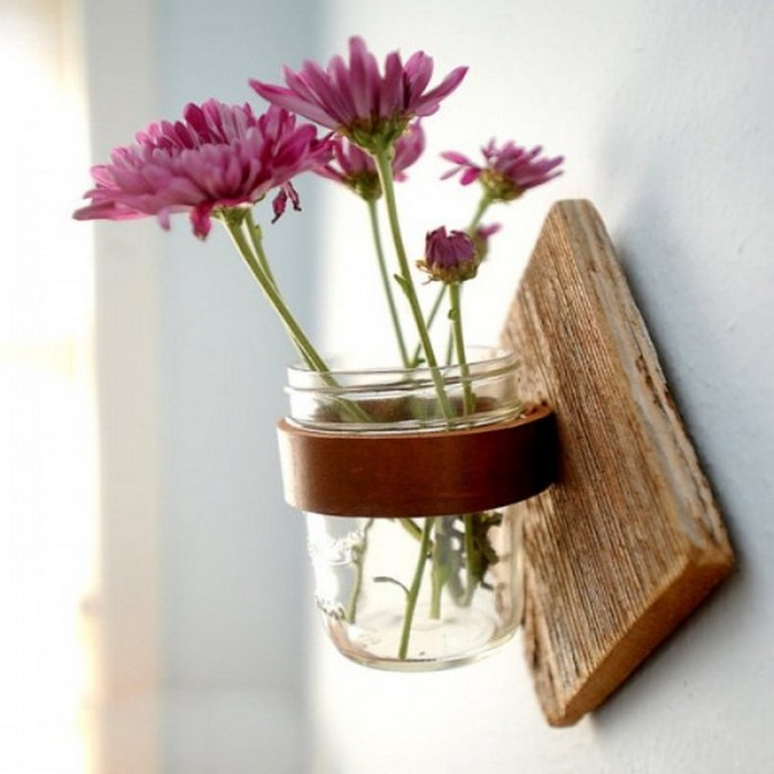 Diy Mason Jars Home Decor Idea