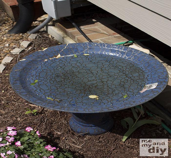 DIY Tile Birth Day Using Table
