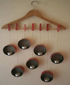 DIY Tins Candle Light Great Idea for Homes with Inspiration
