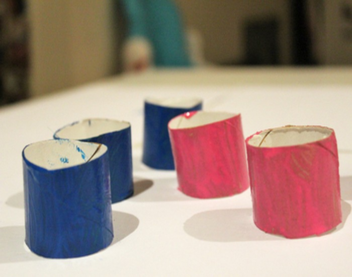 DIY Toilet Roll Neckles Jewelry Designs