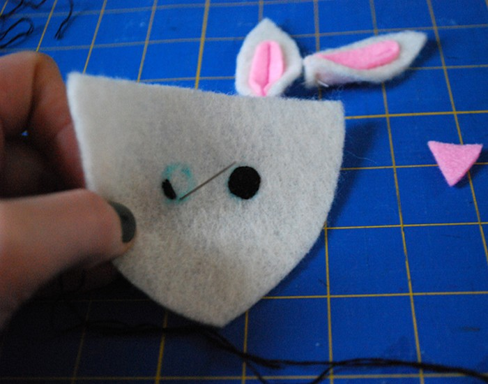 Fuzzy Bunny Slippers From Recycled Material Ideas