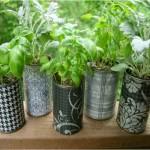 Garden Decor Recycled Material