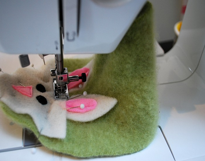 Recycled Felted Sweater Designs