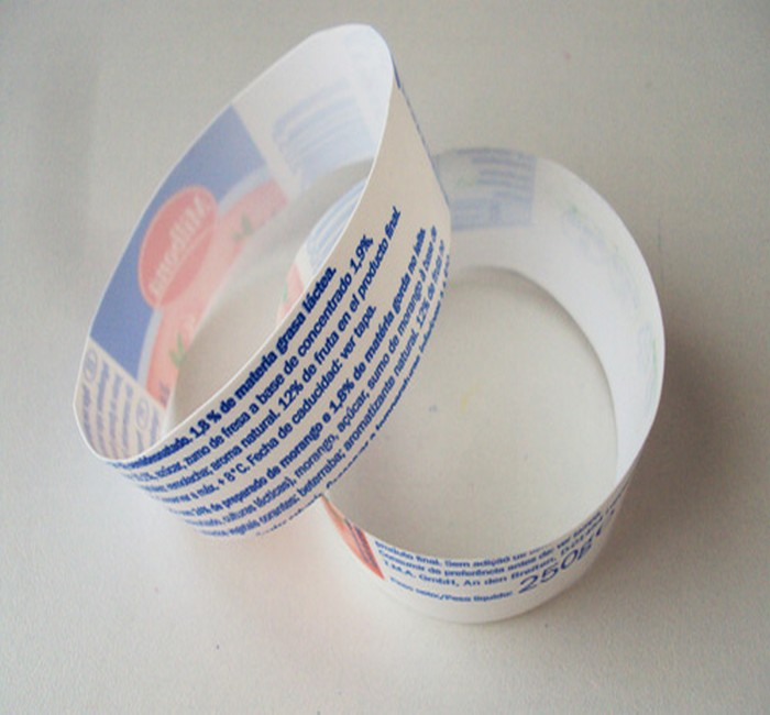 Recycled Yogurt Cup Pieces