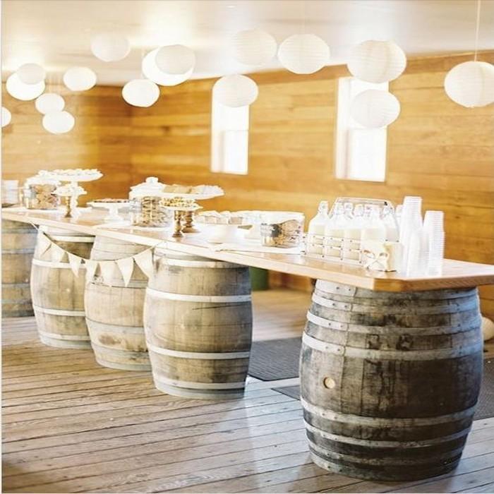 Repurposed Wine Barrels Ideas