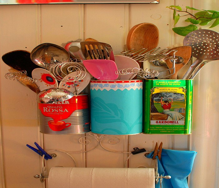 10 Ways To Turn Tin Cans Into Handy Organizers Recycled