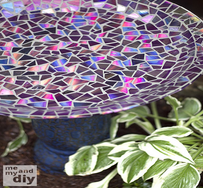 Table Top using Recycled DVDs