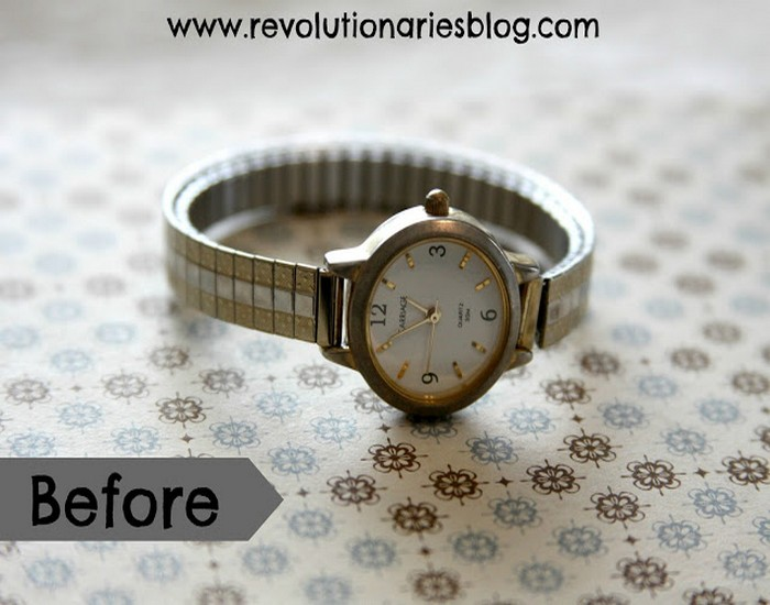 Upcycled Watch into Unique Bracelet Designs