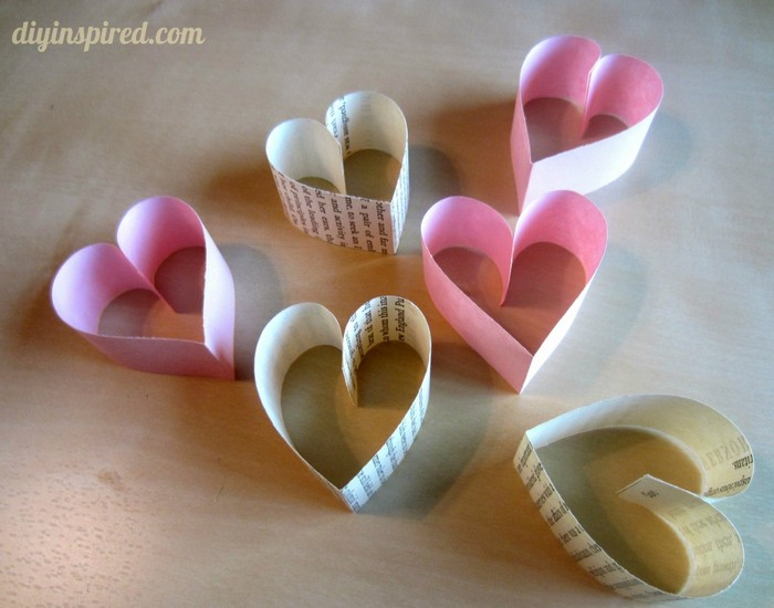 Valentines Day Craft Garland Ideas