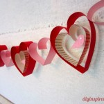 Innovative Idea DIY Valentines Day Garland Crafts