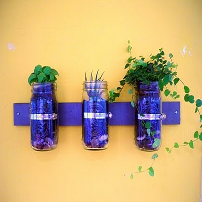 Wall Planter Mason Jar