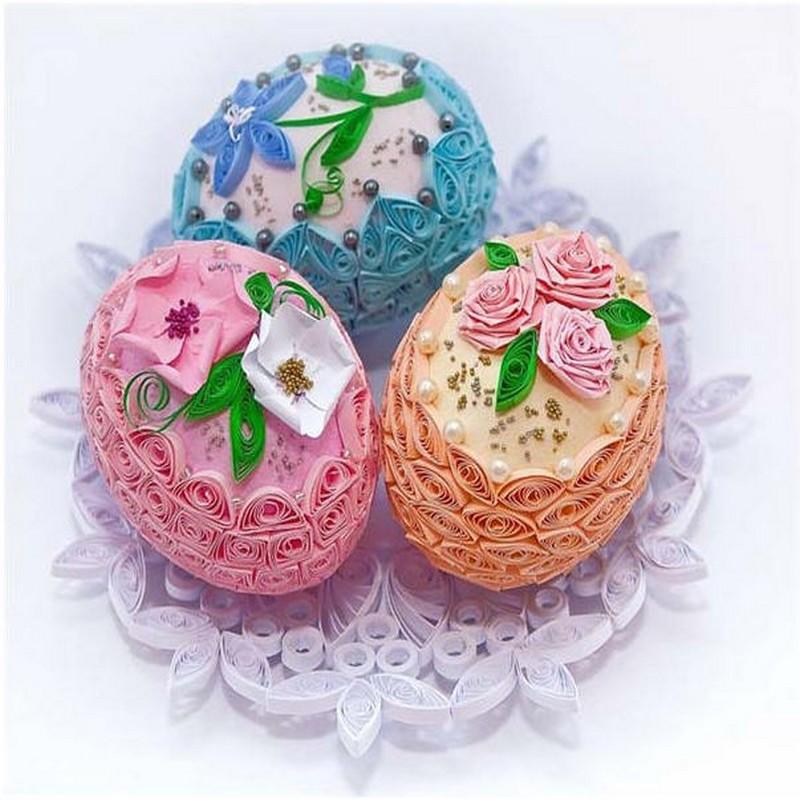 Aster Eggs Decoration Idea