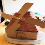 Cardboard Windmill Idea