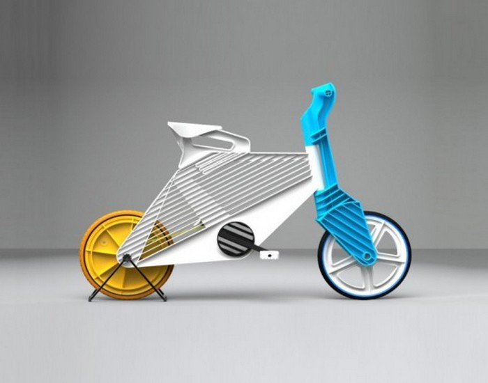 Colourful Recycled Plastic Bike