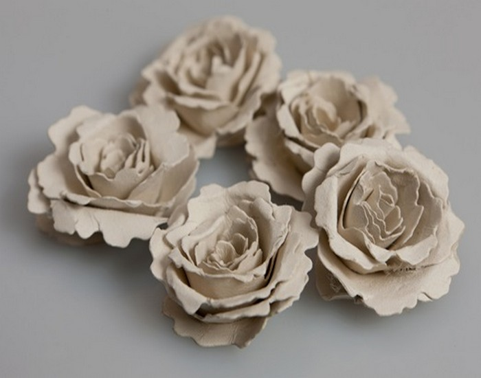 DIY Recycled Seeded Paper Beautiful Flowers
