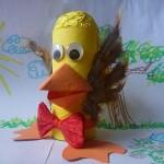 DIY Tutorial Kids Toy Bird with Recycled Toilet Paper Rolls