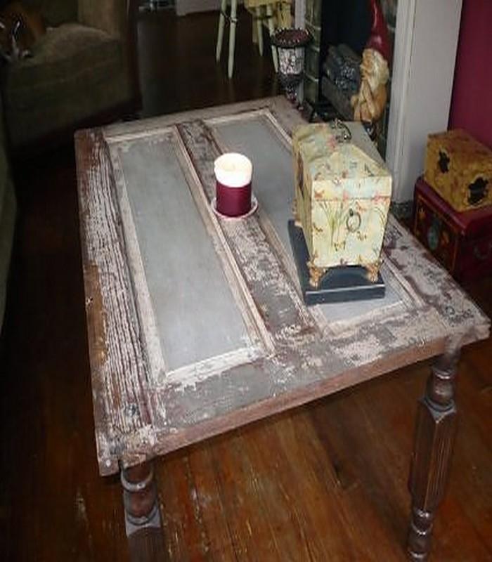Door Turned Coffee Table