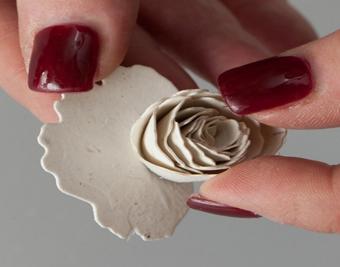 Handmade Seeded Paper flower