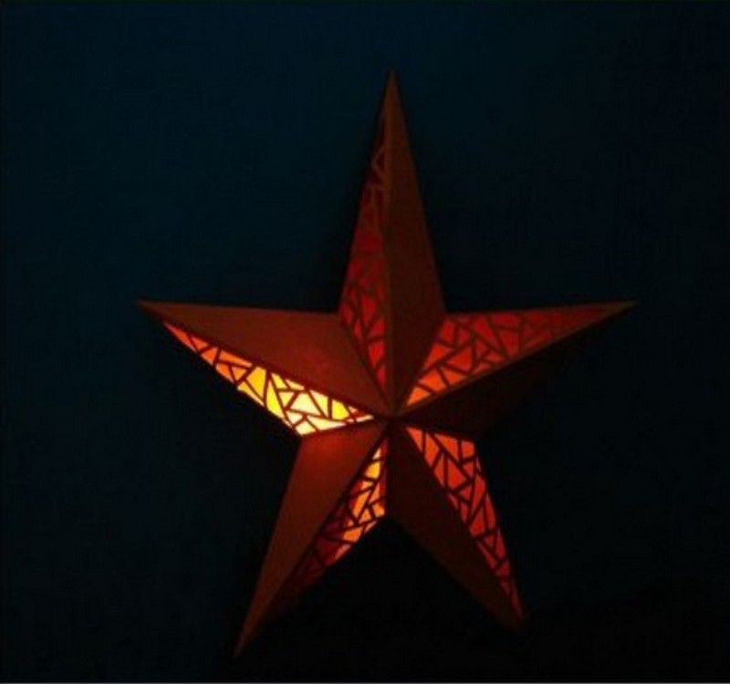 Paper Stars Crafts Design