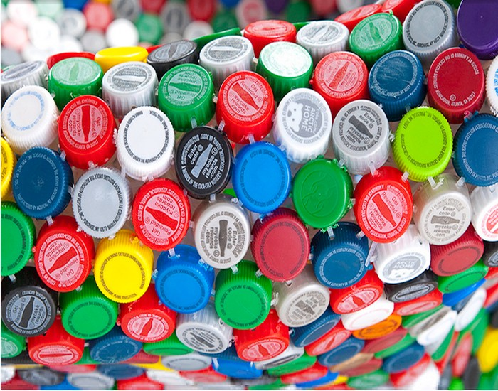 Recycled Bottles Top Caps
