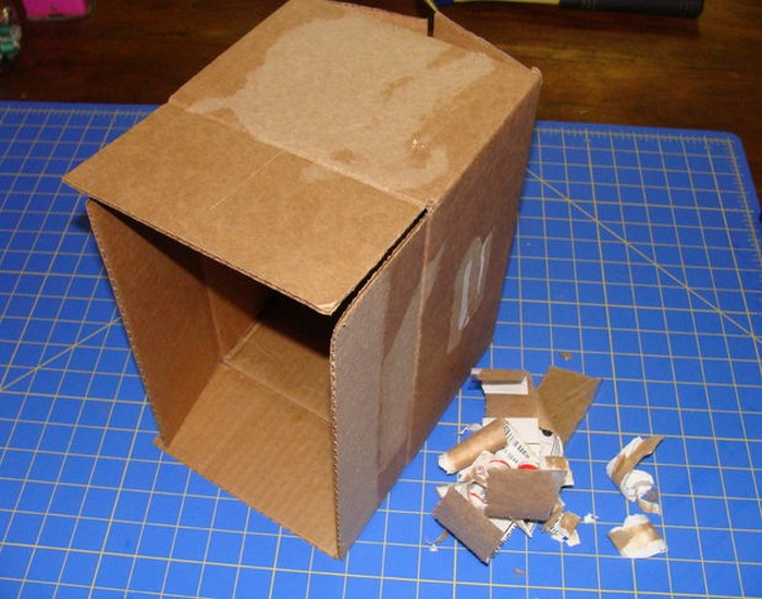 Recycled Cardboard Box