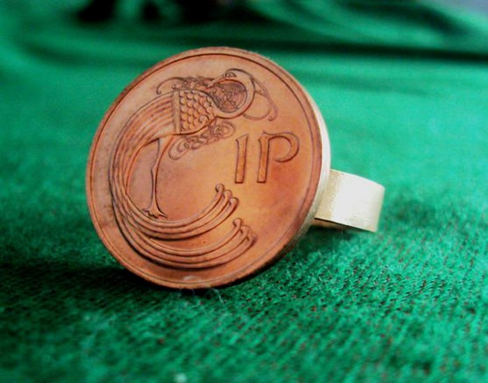 Recycled Coin Ring