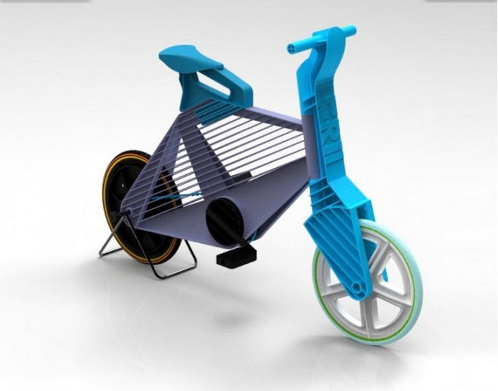 Recycled Plastic Bike Designs