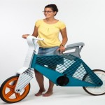 Recycled Plastic Bike Idea