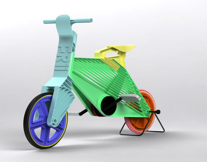 Recycled Plastic Bike
