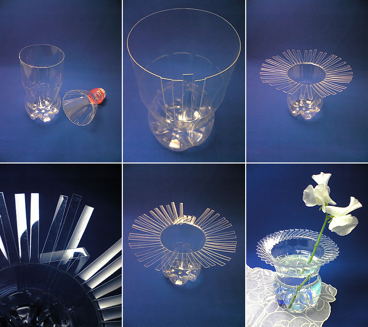 Diy crafts from plastic bottles recycled things for Things to do with plastic bottles