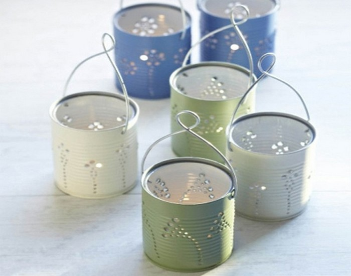 Upcycle Aluminium Tin Cans