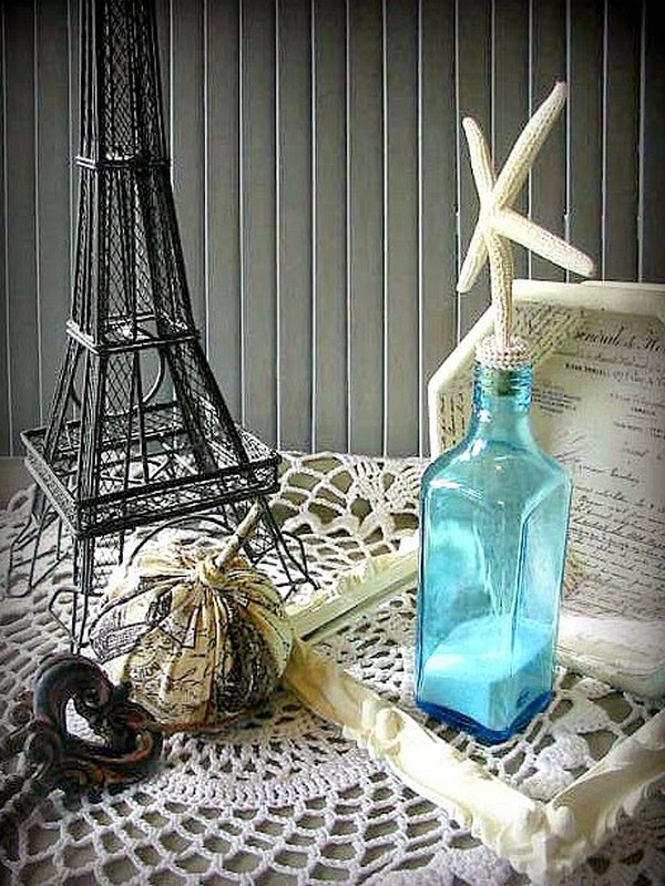Awesome Idea Glass Bottles Recycling For Coastal And Beach Decor Recycled Things