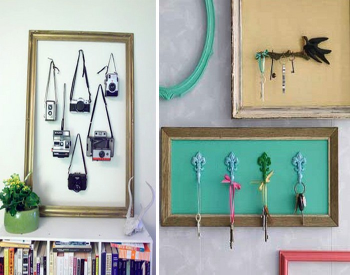 DIY Recycle Old Picture Frames Home Decor Idea | Recycled Things