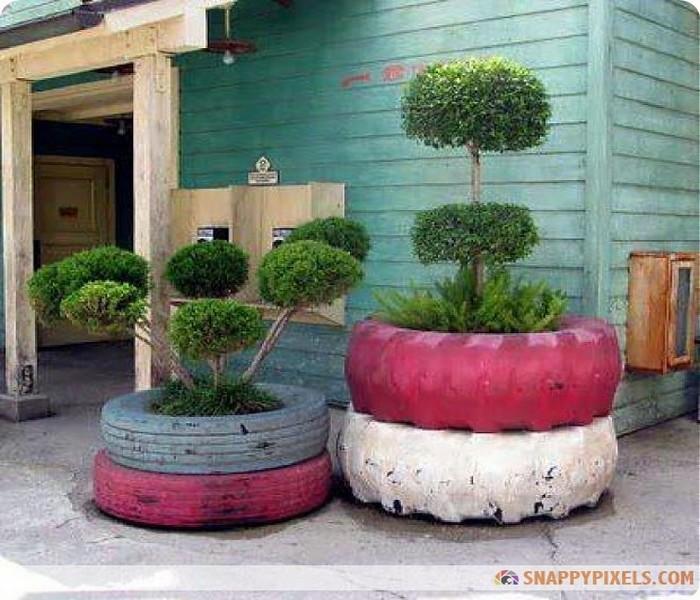 DIY Old Tires Ideas