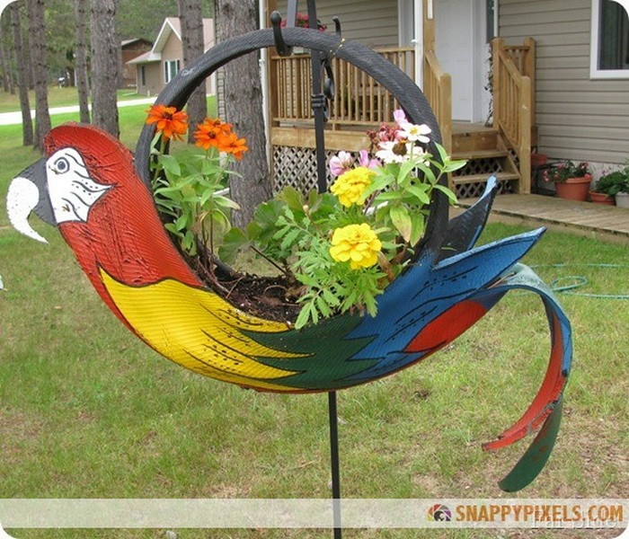 Diy recycled old tires ideas recycled things for Diy recycle ideas